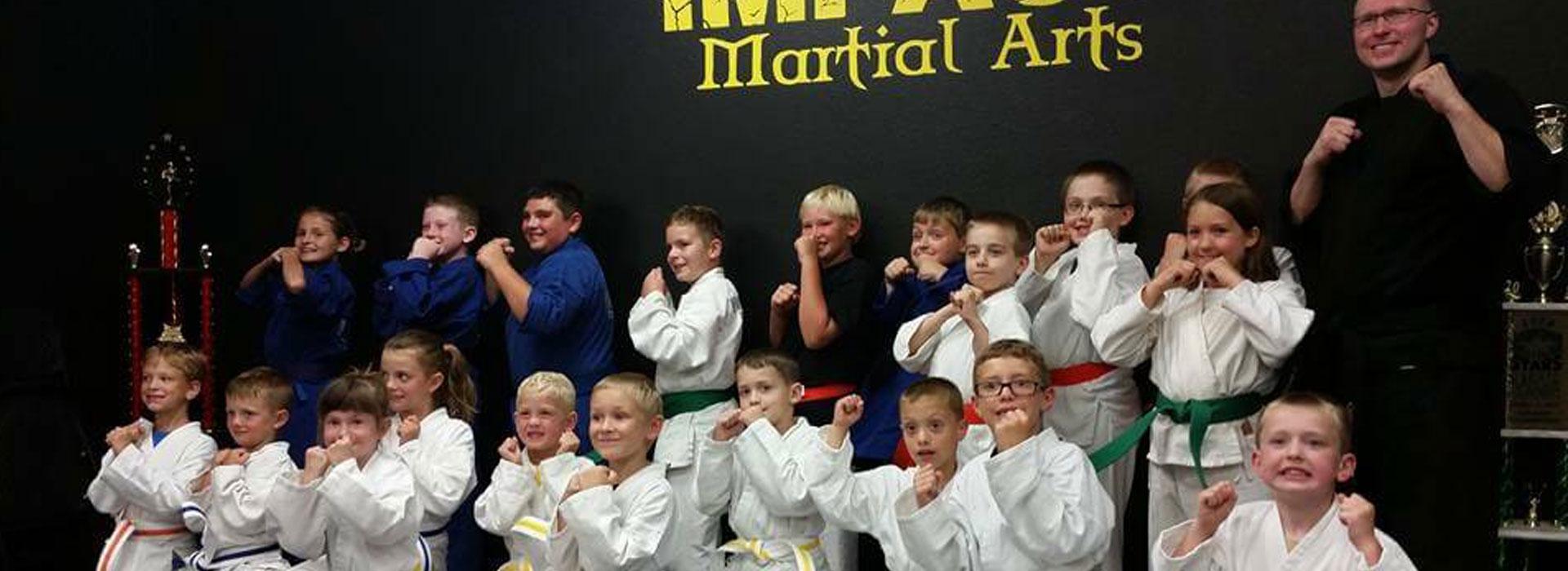 Kids Martial Arts Classes in Oshkosh, WI close to Fox Cities