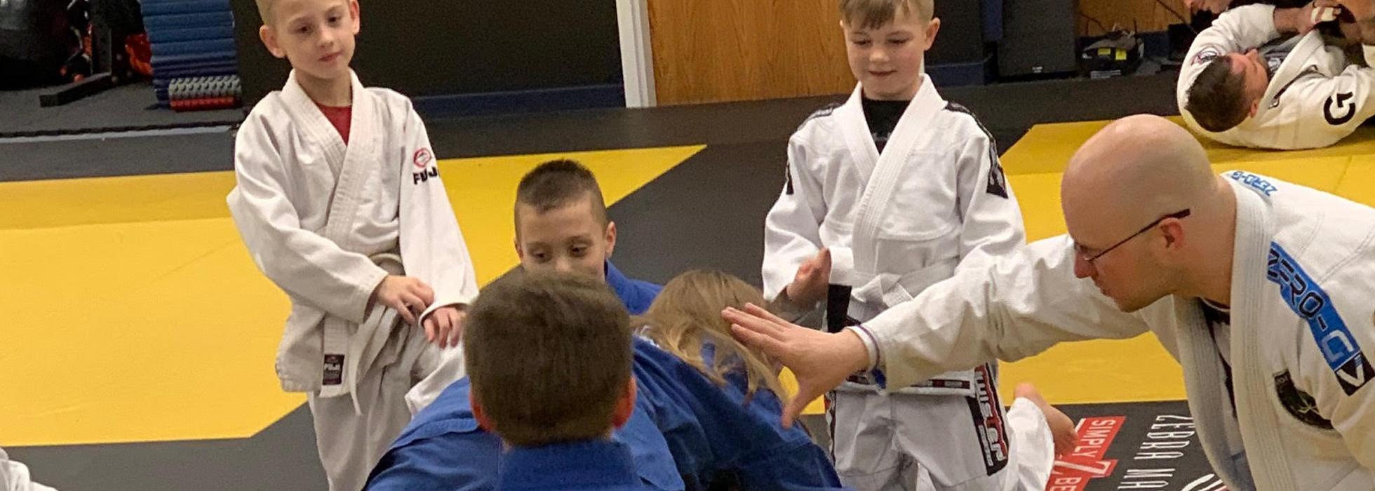 Kids Brazilian Jiu Jitsu in Oshkosh, WI close to Fox Cities